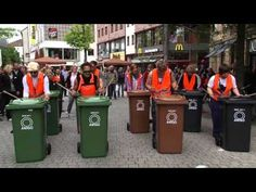 """▶ Groove Onkels feat. Groove Tante - """"Gelber Sack"""" outdoor! - YouTube  Layered TRASHY ostinati that sure didn't... stink!!!"""