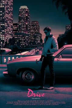 drive movie Drive poster by Rory Kurtz Drive Poster, Beau Film, Movie Poster Art, New Poster, Film Thriller, Codename U.n.c.l.e, Drive 2011, Plakat Design, Cinema Posters