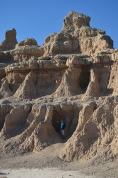 The Badlands, South Dakota. Start at the East end and work your way to the west end to see a variety of formations. The animals tend to live on the west end.