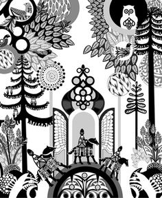 Another cool print by Sanna Annukka