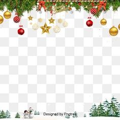 Simple texture christmas border PNG and PSD Merry Christmas Background, Christmas Border, Christmas Frames, Clipart Noel, Tree Clipart, Watercolor Texture, Watercolor Flowers, Natal Design, Adobe Photoshop
