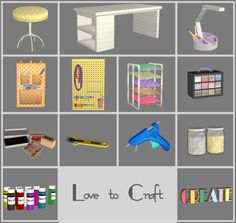 Sims 2 - Love to Craft - Downloads - BPS Community