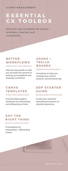 Project Steps, Email Templates, Asana, Coaches, Step Guide, Tool Box, Online Business, Improve Yourself, Budgeting