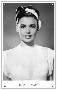 1950s updo with a scarf to accessorize #vintage #hair #wedding