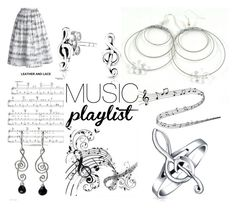 """Loving the music tday"" by dawn-whitehand ❤ liked on Polyvore featuring Bling Jewelry, NOVICA, Chicwish, music and jewelry"