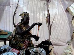 Cafe touba  -  Sénégal .