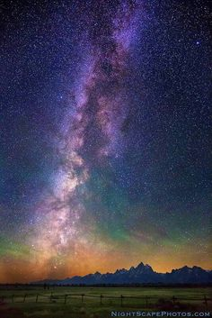Milky Way Dawn & Northern Lights