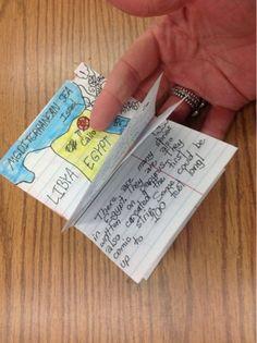 Foldables: How to make a stapleless book