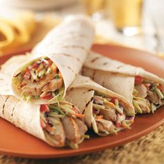 Jamaican Jerk Wrap. . . would make with shredded chicken instead of turkey.