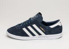 adidas Hamburg (Collegiate Navy / Ftwr White / Gold)