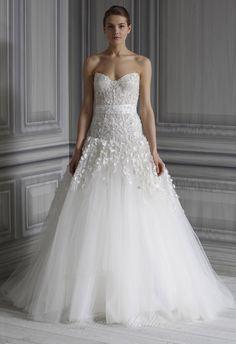 Monique Lhuillier - Bridal Gowns - Aphrodite - http://womenspin.com/bridal-gowns/monique-lhuillier-bridal-gowns-aphrodite/