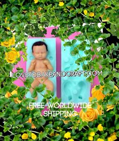 PIXIE MOLD ELF MOLD FAIRY MOLD POLYMER PIXIE POLYMER FAIRY POLYMER ELF OOAK PIXIE OOAK ELF OOAK FAIRY Baby mold babymold babymould sculpey craftsy Fondant Baby, Baby Cupcake, Polymer Clay Fairy, Polymer Clay Dolls, Silikon Baby, Baby Mold, Baby Cake Topper, Cake Topper Tutorial, Clay Fairies