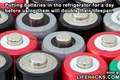 Double The Lifespan Of Batteries - #LifeHack, #Tips, #Tricks