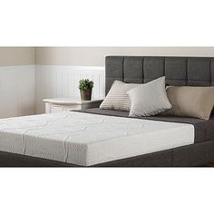 Night Therapy 8 Inch Memory Foam Mattress Only Queen