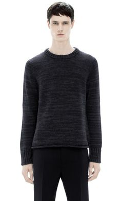 Acne Helsinki Sweater Moul Black
