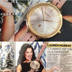 Lauren from #xfactor was seen wearing one of the gorgeous OWL watches! - Shop now > http://ift.tt/1Ja6lvu