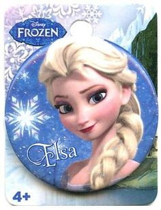 "Disney's Frozen 1.5"" Button: ""Elsa"""
