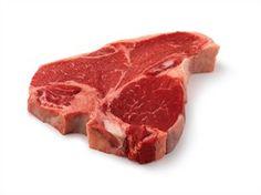 Porterhouse #steaks consist of two tender steaks, the Strip and Tenderloin. Look for telltale T-shaped bone.