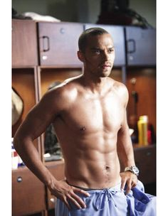 Shirtless Jesse Williams Will Cure What Ails You
