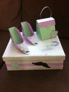 mooie seprise van een schoenen doos