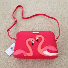 Kate spade flamingo crossbody $229 at store Will take less on Ⓜ️er or ️ kate spade Bags Crossbody Bags