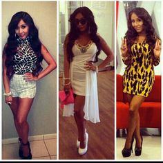 Snooki. Love these outfits