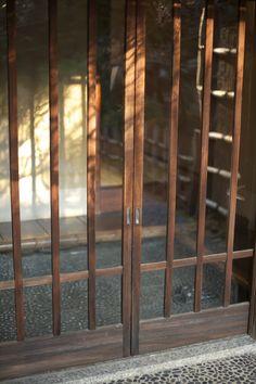 entrance of japanese tea house