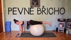 15 minut s velkým míčem | Cviky pro pevné břicho