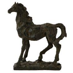 Horse statuette.