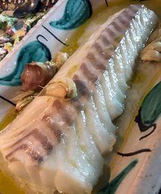 Ugnsbakad torskrygg - Recept Tina Nordström - Fresh Rolls, Ethnic Recipes, Food, Essen, Meals, Yemek, Eten
