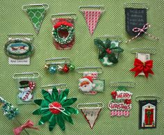 Holiday decorative paper clip embellishments - a very quick craft to put into your goodie bags for a class or the student store at WKDS #FoPRR