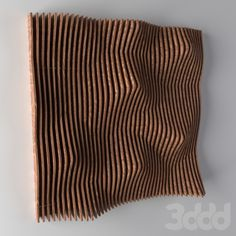 models: Other decorative objects - decorative wood panel