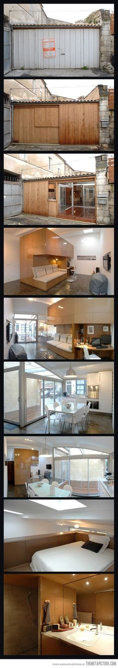 Incredible small space....