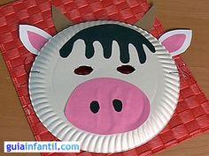 Mascara de vaca