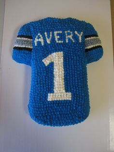 Avery's Jersey Cake