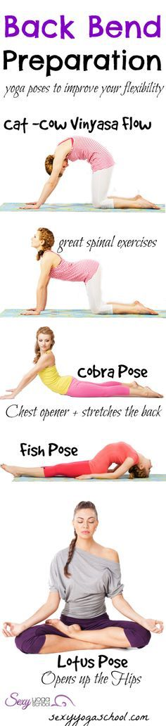 Back Bend Preparation Yoga