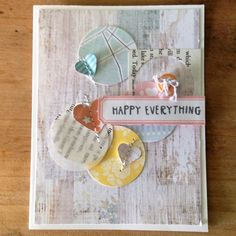 Happy everything by andreahoneyfire at @Studio_Calico