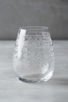 Libena DOF Glass. These delicately etched glasses are so pretty! #LGLimitlessdesign, #Contest