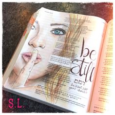 saralindenhols - Be still... but not in a passive way; let God work through you, let Him speak and act through you. Silence yourself in an expectantly way because you know God is in control!  This week the traveling bible (Netherlands) came to me. I have until friday to journal in it before I have to send it to the next one. Not sure who will end up with this bible in the end but I hope they donate it to someone in need of spiritual encouragement!! #psalms37