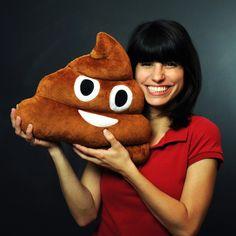 Poop Emoji Kissen