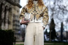 Street style Paris Fashion Week otono invierno 2014