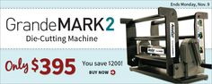 GrandeMARK 2 Sale ends November 9th, 2015