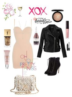 """""""Xoxo from head to toe"""" by zuri-moring on Polyvore featuring Wolford, Miss Selfridge, EF Collection, Yves Saint Laurent, Laura Mercier, CC, MAC Cosmetics, GALA, LSA International and Marc Jacobs"""