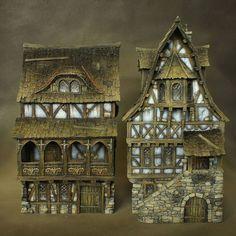Townhouses by Richard Gray (https://www.facebook.com/richardgraycreations/photos)