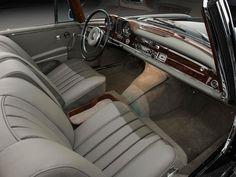 Mercedes-Benz 300 SE Cabriolet innenraum armaturenbrett