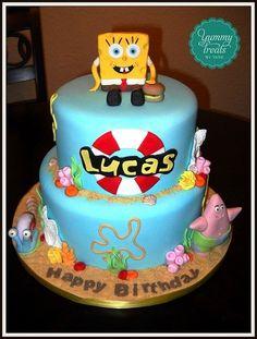 Spongbob cake