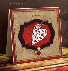 Klaudia/Kszp: Prosta kartka z sercem