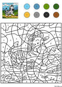 malvorlagen für kinder - malen nach zahlen - kostenlos ausmalbilder herunterladen, ausdrucken
