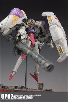 GUNDAM GUY: Gundam GP02 Physalis [Racaseal Elenor] - Custom Build