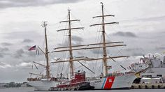 portland maine tall ships   The Barque Eagle is scheduled to arrive in Rockland at 4 p.m. Friday ...